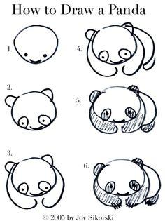 aprende a dibujar tu pandita