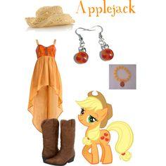 """Applejack"" by grace-buerklin on Polyvore"