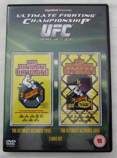 Rare Ultimate Fighting Championship UFC Ultimate Ultimate 1995 & 1996 2 DVD Set Stipe Miocic, Ultimate Fighting Championship, Dvd Set, Ufc, Presents, Ebay, Gifts, Favors, Gift