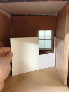 DIY dollhouse panelling ~ helpful hints & lllustrations