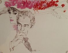 My Fair Lady - Drawing/illustration art by Bob Peak
