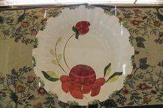 Vibrant & Allegro BLUE RIDGE SOUTHERN POTTERIES Vegetable Bowl 4129 #BlueRidgeSouthernPotteries
