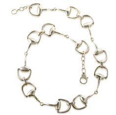 Caracol - Inspired Jewelry and Handbags - Contemporary Bit Necklace, $449.00 (http://www.caracolsilver.com/contemporary-bit-necklace/)
