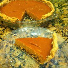 Fall Spice Pumpkin Pie