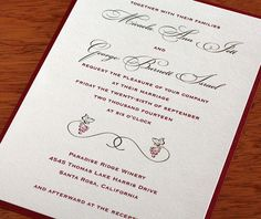 #Grapevine #wedding #invitations
