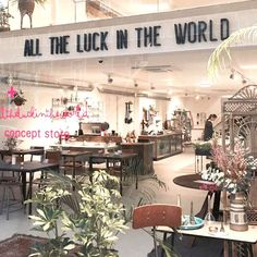 All the luck in the world concept store Amsterdam