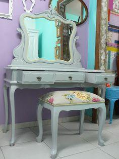 Ateliando - Customização de móveis antigos: Penteadeiras & Penteadeiras...