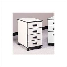 Fleetwood Solutions Four-Drawer Mobile File Cabinet 28.1004x Color/Trim/Frame: Almond/Black/Black by Fleetwood. $748.99. 28.1004.335.000 Color/Trim/Frame: Almond/Black/Black The Solutions series is designed to create the perfect functional computer lab or work environment for your school or office. With a variety of units that work seamlessly together, the design possibilities for your space are endless! Each model is available in several finishes and design op...