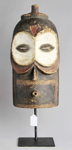 www.tribalart.be Masque Bembe Hibou ART Africain Congo Belge Tribal Kongo Masker African Mask OWL | eBay