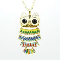 Beautiful Owl Necklace #owl #necklace www.loveitsomuch.com