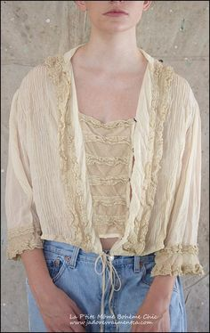 Margaux-Blouse-Top False jabot press studs to sides of cardi - can be removed for cardi only or infor top .