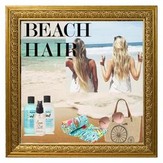"""Sweet Salty Hair"" by nellaellawella ❤ liked on Polyvore featuring beauty, Bumble and bumble, Olivine, Straw Studios, Lilly Pulitzer and beachhair"