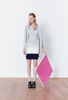 KNITSS SS16 - Maple Top, Madison Skirt, Daytime Cardigan