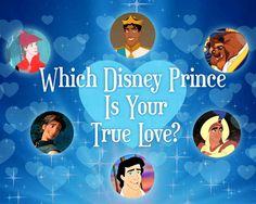 Quiz: which Disney princess is your true love? I got Flynn Rider :)