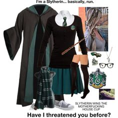 Slytherin: School Style. <3