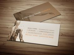 A Mending Touch Massage Business Cards