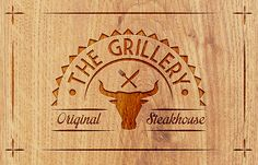 THE GRILLERY STEAKHOUSE Branding Identity Proposal on Behance