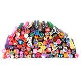 Bundle Monster 100 PC 3D Designs Nail Art Nailart Manicure Fimo Canes Sticks Rods Stickers Gel Tips (Health and Beauty)By Bundle Monster
