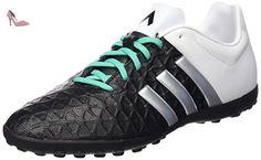 adidas Ace 15.1 FG/AG J, Chaussures de Football Mixte Bébé, Multicolore-Negro/Plateado/Verde (Negbas/Plamat/Menimp), 35 1/2 EU