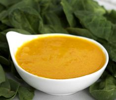 Carrot-Ginger Dressing  Makes 1 1/2 cups or more    4 medium carrots, roughly chopped  1-inch knob of fresh ginger, roughly chopped  1 shallot, sliced  3 tablespoons rice vinegar  1 tablespoons sesame oil  1 teaspoon soy sauce  1/4 cup vegetable oil