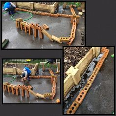 Play outdoors in an early years setting that is currently being developed - from Stimulating Learning with Rachel Eyfs Classroom, Outdoor Classroom, Classroom Ideas, Willow Sticks, Diy Teepee, Cheap Plants, Construction Area, My Settings, Outdoor Play Areas