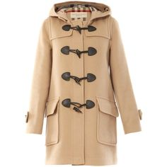 Burberry brit coats CAMEL (€710) ❤ liked on Polyvore featuring outerwear, coats, jackets, coats & jackets, burberry, camel, brit, burberry coat, beige coat and camel duffle coat