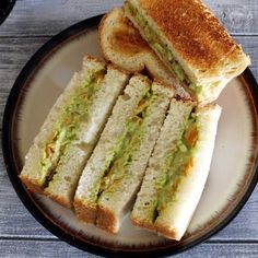 Veg Mayonnaise Sandwich Recipe - Quick and easy to make vegetable mayo sandwich that can be served as a breakfast, snack or can be packed into lunch box. For some Indian touch, I have added little green coriander chutney to the veg mayo sandwich mixture. Grilled Sandwich Recipe, Veg Sandwich, Sandwich Recipes, Snack Recipes, Snacks, Mayonnaise Sandwich, Mayonnaise Recipe, Bhaji Recipe, Idli Recipe