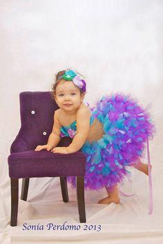Little Mermaid Inspired Top & Tutu Skirt Plus Options Birthday- 1st Birthday-Newborn-Photo Prop-Cake Smash