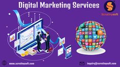 Transform your business with Digital Marketing Services. Scrutinysoft offers the most reliable and effective Online Marketing Services which include SMM, SEO, PPC, Email Marketing, Content Marketing & Affiliate Marketing Online Marketing Services, Email Marketing, Content Marketing, Affiliate Marketing, Social Media Marketing, Competitor Analysis, Searching, Seo, Internet