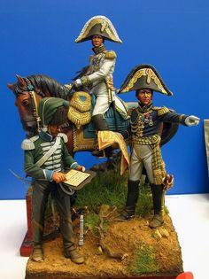 Generali francesi e aiutante di campo