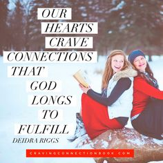 Do you long for community, yet struggle to create a connection with other women? This new book from the women of (in)courage is for you! God created women with a craving for connection, and this book is a fantastic tool to help us break free from the insecurities that isolate and find courage to embrace community.