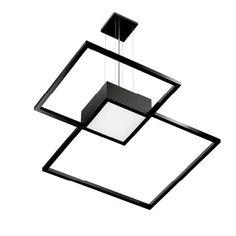 Потолочные подвесные светильники Wever & Ducre Потолочный подвесной светильник VENN 3.0 LED 47W PHASE CUT DIM SUSPENDED BLACK 220-240VAC 149384B4