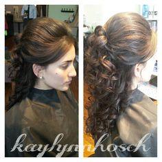 #wedding #updo Www.styleseat.com/kaylynnhosch