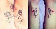 La amistad es lo más hermoso y estos 13 tatuajes para compartir con tu BFF les…