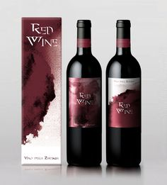 Red Wine on Behance