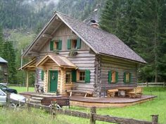 ★ Beautiful cabin, I love it!