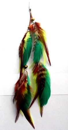 Amazon Queen Feather Hair Clip by Plumeuphoria on Etsy, $17.00
