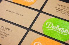Unique Business Card, Dobrotti #BusinessCards #Design (http://www.pinterest.com/aldenchong/)