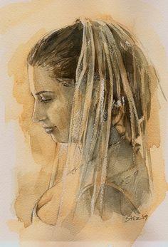 Bride portrait   http://shinzchang.blogspot.com/