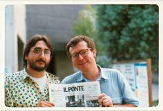 Michele Marziani e Giorgio Tonelli, fine anni Ottanta