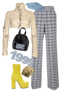 """""""zenon"""" by chanelandcoke ❤ liked on Polyvore featuring Dolce&Gabbana, Vetements and Comme des Garçons"""