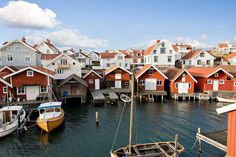 Coastal, Tången, Bohuslän, Sweden Going Up The Country, The Places Youll Go, Places To Visit, Welcome To Sweden, Wonderful Places, Beautiful Places, Sweden Travel, Small Buildings, Seen