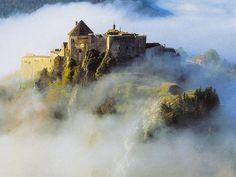 Fort de Joux dans le Doubs. France
