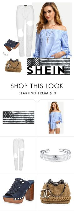 """""""Untitled #715"""" by aschwing ❤ liked on Polyvore featuring River Island, Belk Silverworks, MICHAEL Michael Kors and Karl Lagerfeld"""