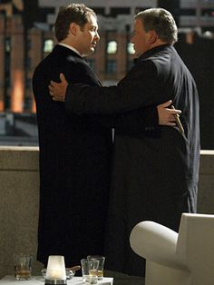 Boston Legal. Best Bromance ever. Denny Crane & Alan Shaw  ♥ James Spader made Alan Shore the most amusing and irresitable borderline criminal in a lawyer suit. I discovered that William Shatner is a brilliant comedy actor in Boston Legal.