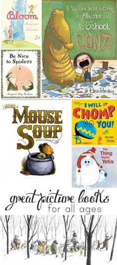Picture book recommendations from a mom and children's librarian - a great mix of new and old titles!