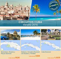 Playas interminables de arenas blancas, ciudades coloniales, naturaleza en estado puro, buena música, la alegría de sus gentes...todo eso es lo que Cuba tiene para ofrecerte. Anímate a conocer la perla del Caribe!! Reserva en www.formigatours.com