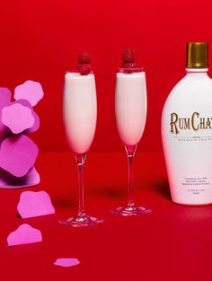 Check out this delicious recipe for Raspberry Sorbet on RumChata.com