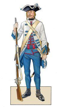 Hungarian Infantry - Seven Years War (Kronoscaf)