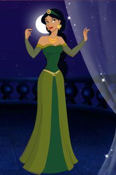 Jasmine in Green